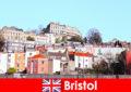 Bristol de stad met jeugdcultuur en een vriendelijke sfeer voor vreemden