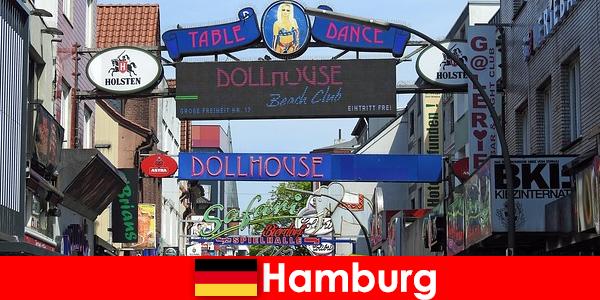 Hamburg Reeperbahn – nachtlevenbordelen en escortservice voor sekstoerisme
