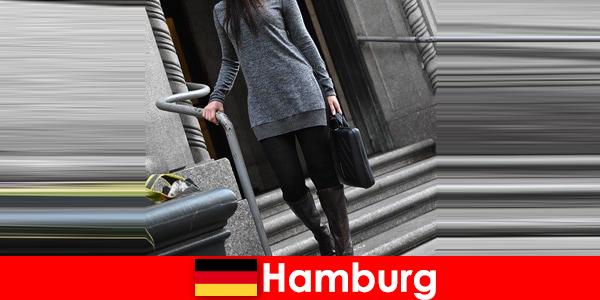Elegante dames in Hamburg verwennen reizigers met exclusieve discrete escortservice