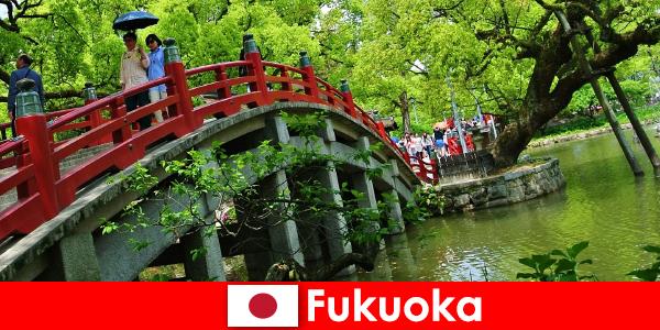 Voor immigranten is Fukuoka een ontspannen en internationale sfeer met een hoge kwaliteit van leven