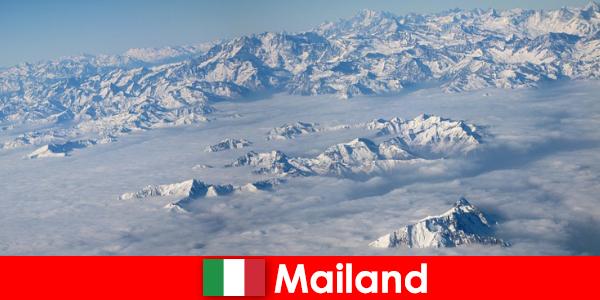 Milaan een van de beste skiresorts voor toeristen in Italië