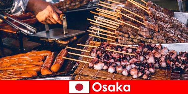 Osaka is de keuken van Japan en een aanloophaven voor iedereen die op zoek is naar een vakantie-avontuur