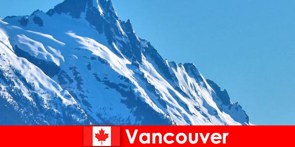 De stad Vancouver in Canada is de belangrijkste bestemming voor bergtoerisme