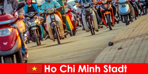 Ho Chi Minh City is altijd een plezier voor fietsers en sportliefhebbers