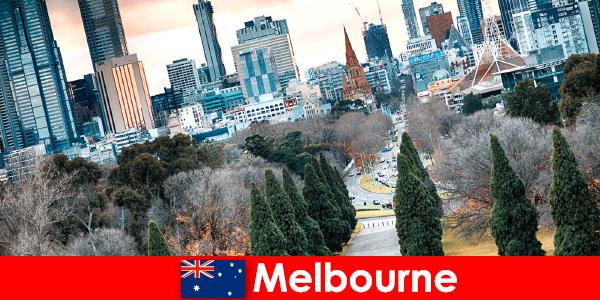 De culturele diversiteit in Melbourne is ook een lust voor korte vakantiegangers