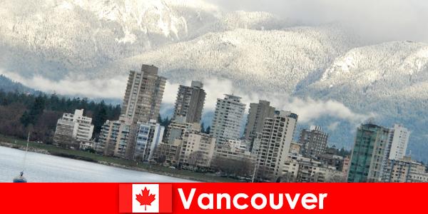 Vancouver, de prachtige stad tussen oceaan en bergen, biedt veel mogelijkheden voor sporttoeristen