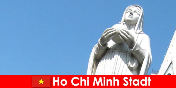 Economisch centrum van Vietnam Ho Chi Minh City een bestemming voor buitenlanders